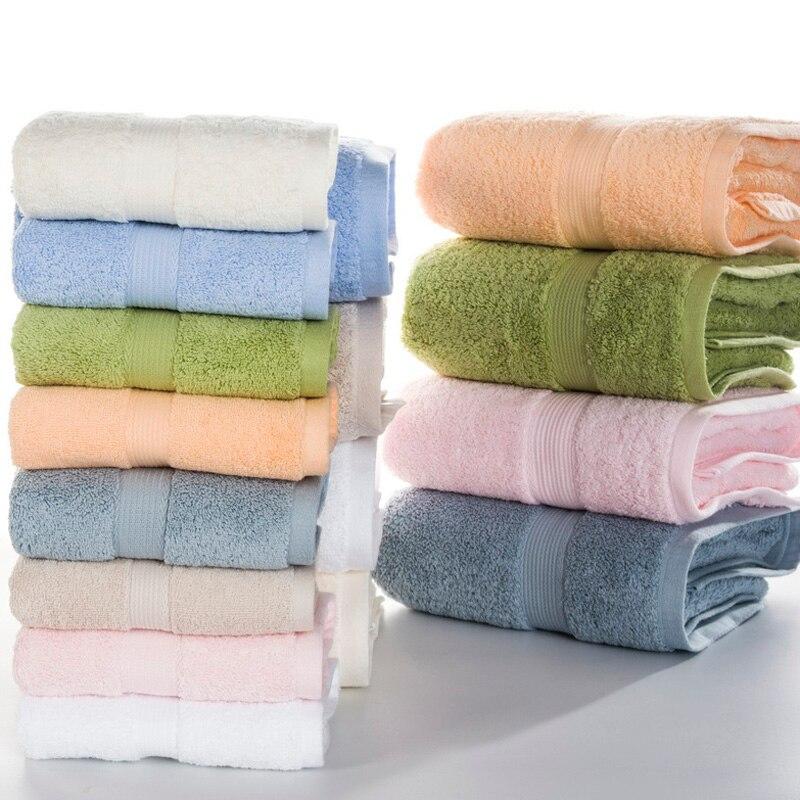 100 egyptian cotton towel set 2pcs face towel 1pc bath towels for adultsbeach - Egyptian Cotton Towels