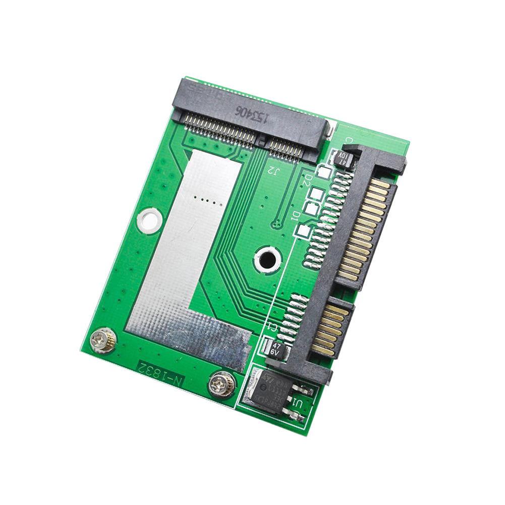 PCI-E MSATA SSD to 2.5 Inch SATA 6.0 GPS Adapter Converter Card Module Board XXM8 trendy see through off the shoulder long sleeve lace blouse for women