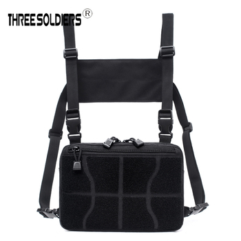 Men Chest Bag Adjustable nylon Tactical Rig Hip Hop Streetwear Functional Military Waist Packs Unisex