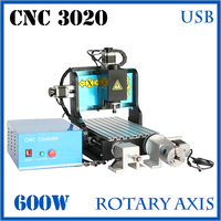 JFT High Speed CNC Router Cutting Machine 4 Axis CNC Router Software 600W CNC Engraver Machine