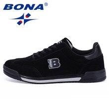 Bona nuevo estilo clásico hombres Zapatos Encaje hasta Suede cuero hombres Zapatos los hombres cómodos Zapatos suave luz el envío libre