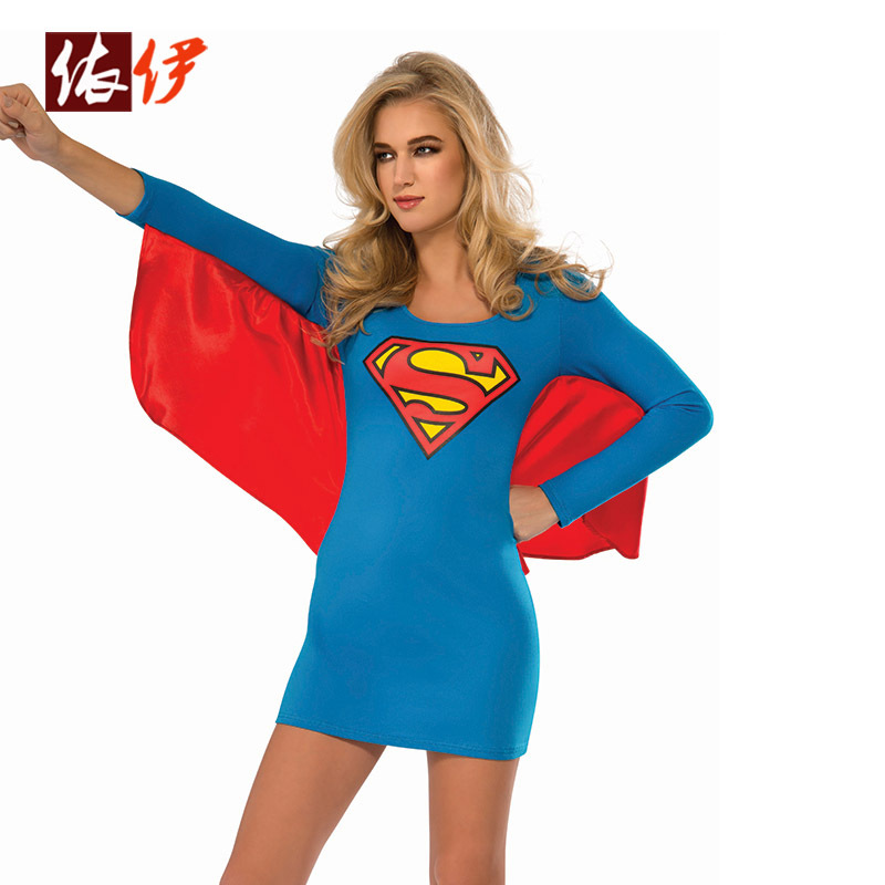 Superwoman and wonder woman costumes-6705