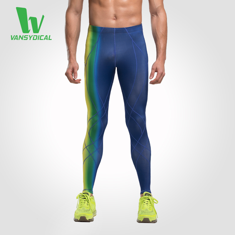Mens Base Layer Fitness Jogging Long Pants Skinny Quik-dry Compression Running Tights Trousers Sports Leggings Workout Gym Wear