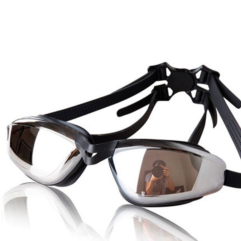 ᐃGrado Superior grande Marcos Gafas de natación gafas hombres ...