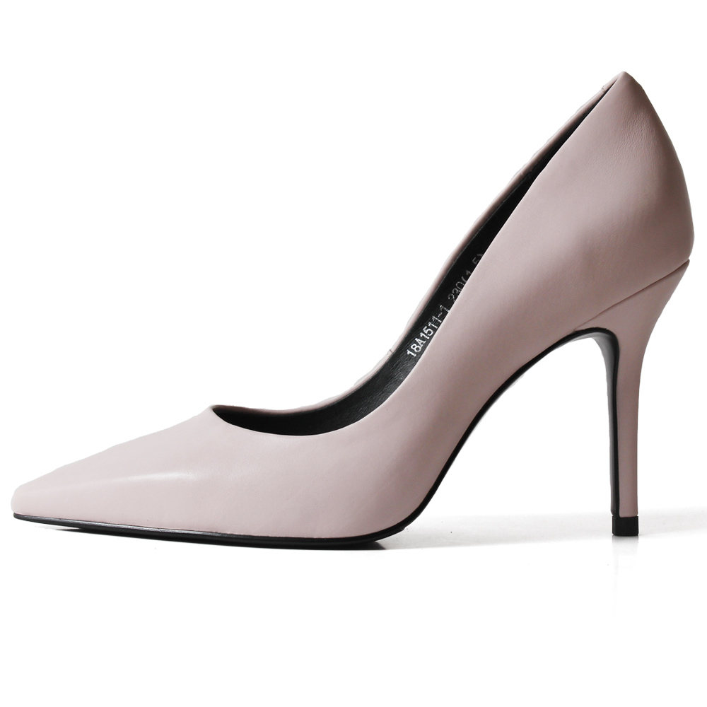 Vikeduo 2019 Summer New Fashion Women Shoes Ladies Pink High Heels Pumps Pointed Toe Wedding Party Business Zapatos Mujer Sapato in Women 39 s Pumps from Shoes