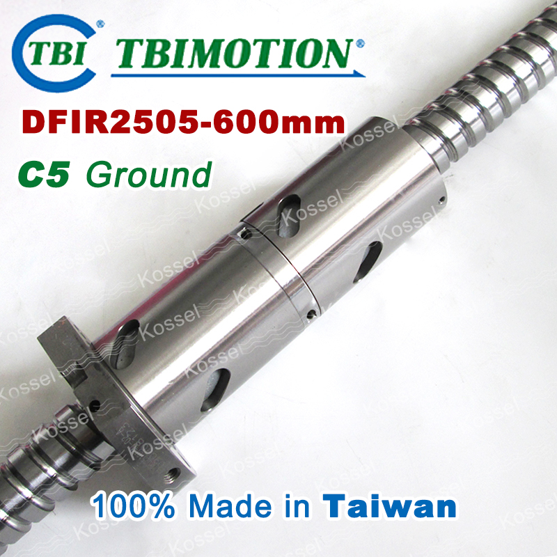 TBI DFI 2505 600mm Ball Screw  Milled ballscrew and end machined for high stability linear CNC diy kit rakesh kumar tiwari and rajendra prasad ojha conformation and stability of mixed dna triplex