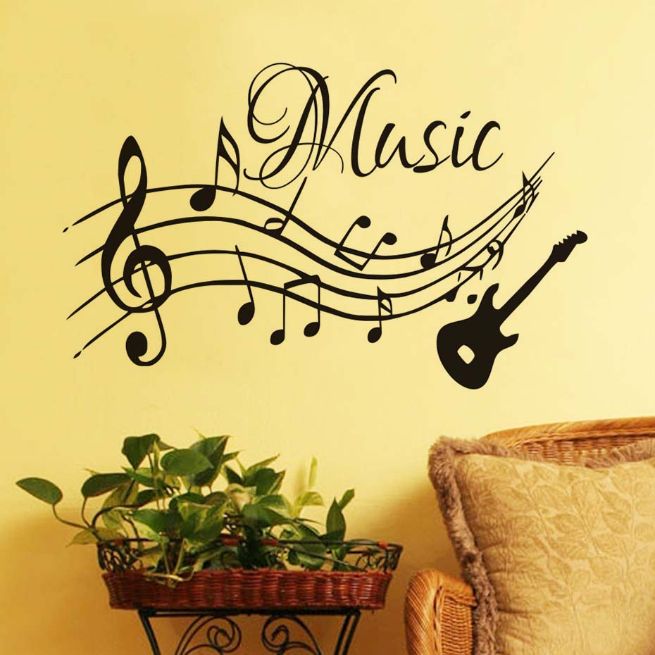 Old Fashioned Metal Musical Wall Art Sketch - Wall Art Collections ...