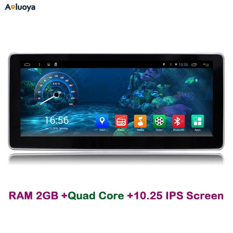 Aoluoya 10.25 IPS 2 ГБ Оперативная память Android 6.0 dvd-плеер автомобиля Радио GPS навигации для Mercedes Benz C200 W204 2005-2012 аудио WI-FI dab +
