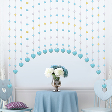 Curtains Crystal Glass Bead Curtain Luxury For Living Room Butterfly Home Decor