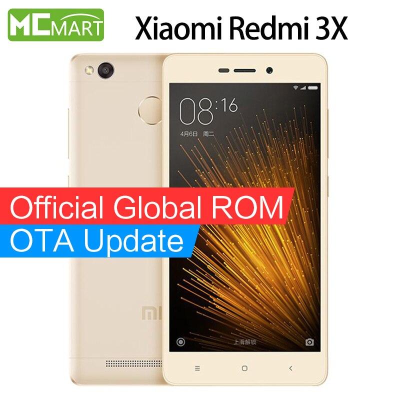 Xiaomi Redmi 3X 3 X 32GB ROM 4G font b smartphone b font Mobile Phones Snapdragon