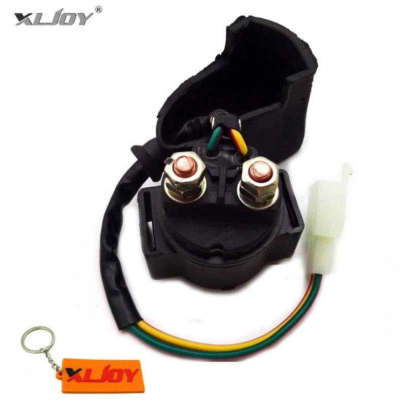 XLJOY Starter Relay Solenoid For Kymco MXU 250 300 ATV Scooter People 150 200 500