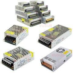 LED Driver 5V 12V 24V 36V 48V 1A  2A 5A 10A 20A 30A 60A LED Power Supply  AC85-265V Lighting Transformers For LED Power Lights