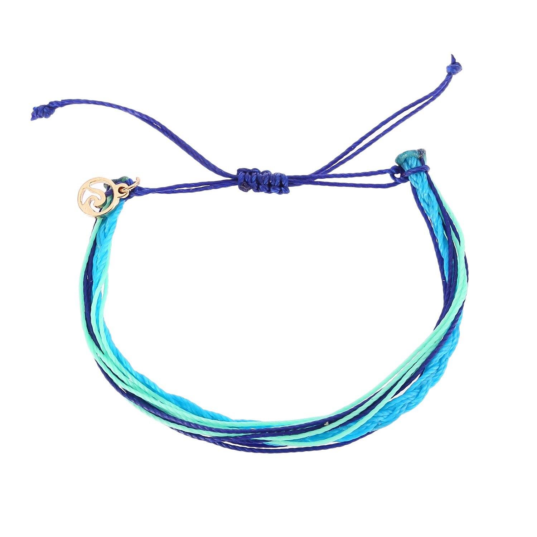 LWMMD mode couleur coton tissé Bracelet tissé à la main tressé Bracelet multicolore chaîne tresse amitié Bracelet