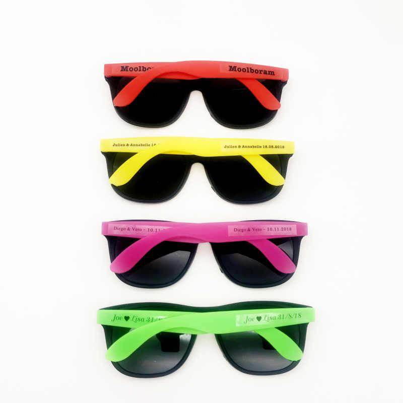 36 Pairs 80's نمط نيون نظارة شمسية للحفلات هدية ممتعة لعبة جودي حقيبة هدايا لحفلات الزفاف شاطئ هدايا تذكارية