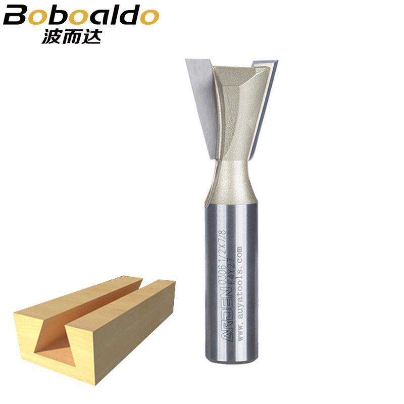 1PCS 1/4 1/2 Shank Two Flutes Professional Dovetail Cutter Without Spur Dovetail Joints Wood Machine Arden Router Bit1PCS 1/4 1/2 Shank Two Flutes Professional Dovetail Cutter Without Spur Dovetail Joints Wood Machine Arden Router Bit