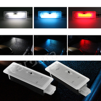 Three Switchable Color LED Foot Light Door Light For BMW 1 Series 2 Series 3 Series
