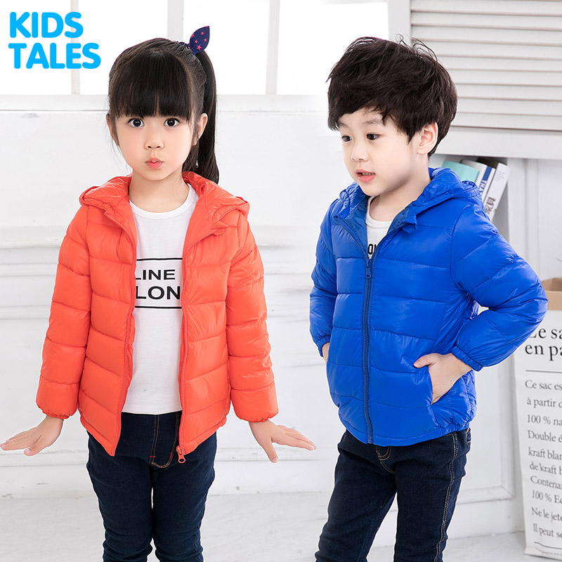 6M-7Y kids Ultra light down jacket for girls white down parkas 90% down autumn winter warm children coat boys girls clothes 2017 children winter clothes boys and girls down jacket long 90