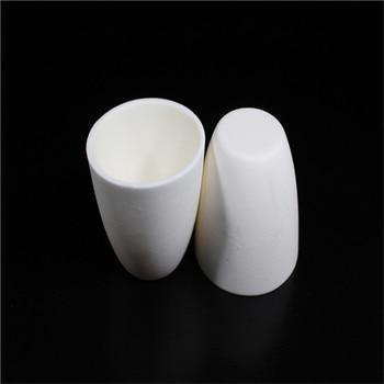 99.3% alumina crucible / 200ml / with lids / Arc-Shaped / corundum crucible / Al2O3 ceramic crucible / Sintered crucible