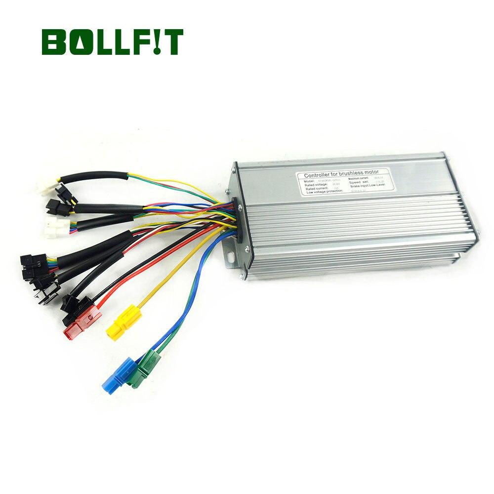 BOLLFIT eBike Controller 48V 30A Electric Bicycle KT kunteng750W 1000W Motor 12 Mosfets Motor Waterproof Plug