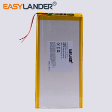Lithium-Polymer-Battery Batteries Tablet-Pcs 6600mah with Board for DIY Power-Bank Large-Size