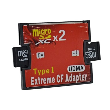 Single/ Dual Slot Memory Card Reader Micro SD /SDXC/ TF to CF Type I Adapter SD 3.0 For Laptop PC Computer