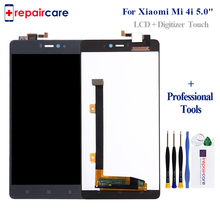 Original Mi 4i LCD For Xiaomi Mi 4i LCD Display Frame Touch Screen Digitizer Assembly Replacement 5.0 Inch 1920*1080 LCD Screen