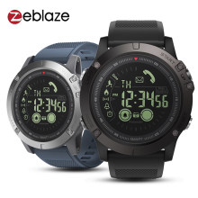 Zeblaze Vibe 3 Olahraga Smart Watch Tahan Air Bluetooth Gelang Pedometer Alarm Stopwatch Siaga Panjang Digital Watch Pria(China)