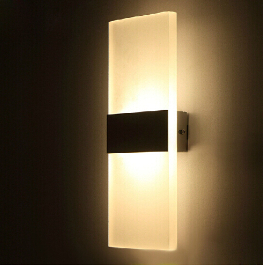 light wall sconce whiteblack modern led wall lamp for bed home lighting cheap wall sconce lighting