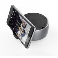 wireless bluetooth speaker metal mini portable subwoof sound with Mic TF card FM radio AUX TF MIC MP3 music play loudspeaker