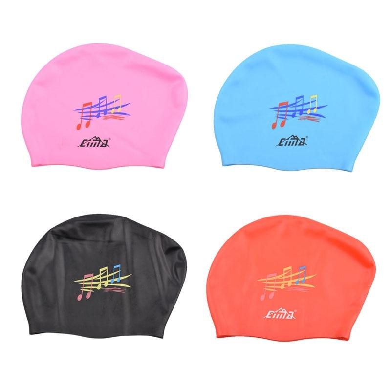 Waterproof Adults Swimming Caps Women Long Hair Swim Cap