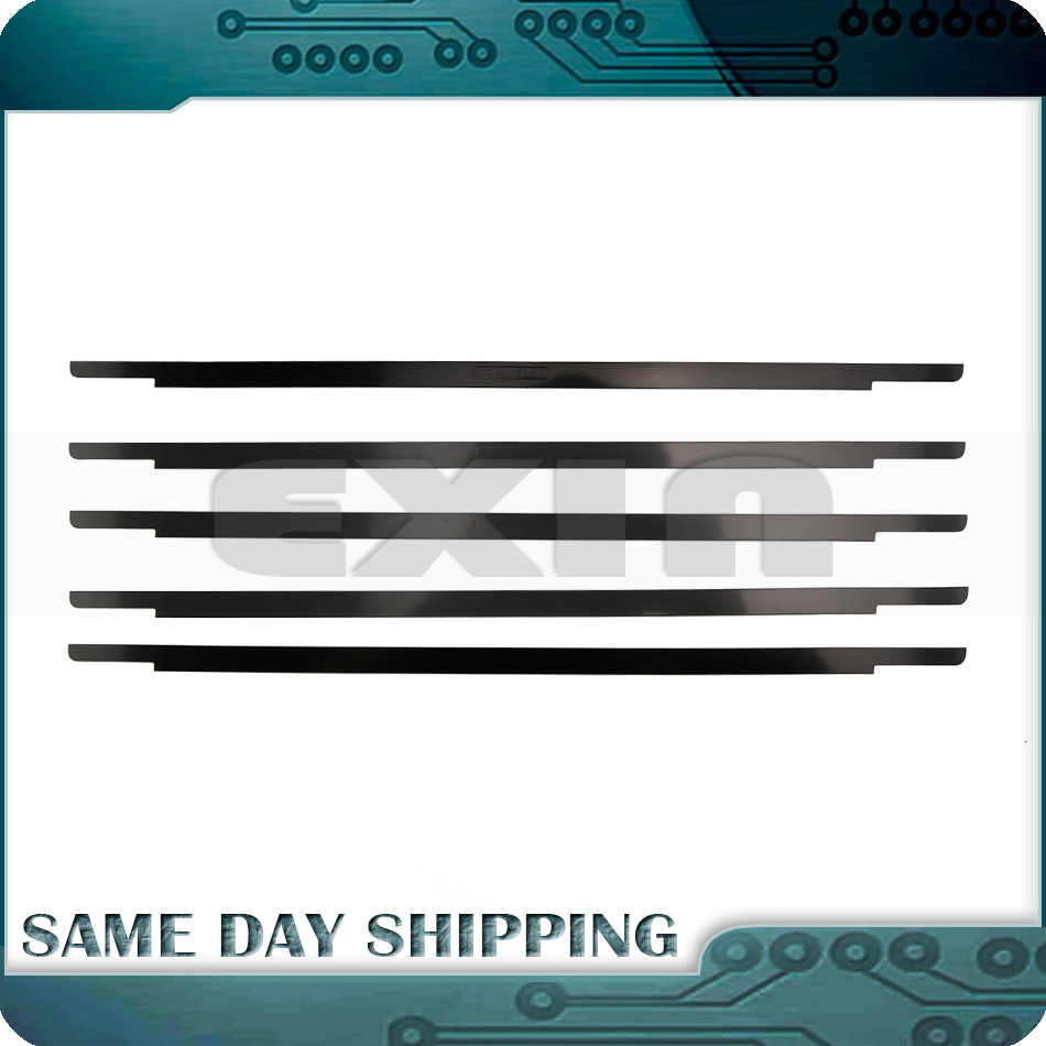 New A1706 A1708 A1707 LCD Screen Glass Trim Bezel Front Display Cover Silver Grey for MacBook Rro Retina 13 15 Bezel 2016 2017 laptop lcd back cover screen for hp for envy 15 15 j 15 j000 15 j100 lcd front bezel cover 720535 001 b shell front bezel touch