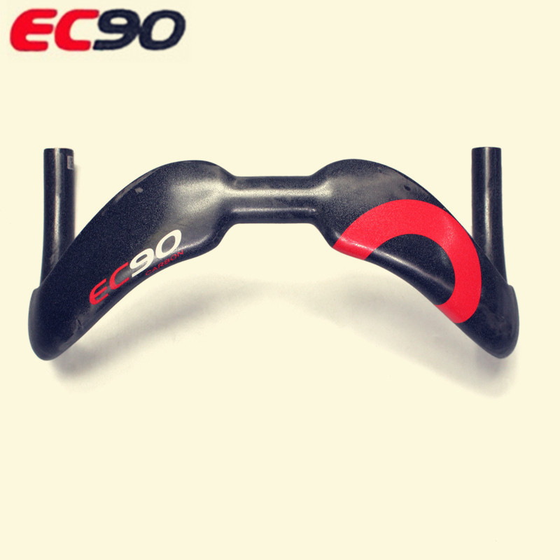 2017 EC90 New design Full carbon fiber TT Bicycle handlebar road bike handle Dead fly bike Handlebar Site 375 380MM UD Granules bended carbon fiber one highway full carbon fiber road bike handlebar highway bicycle handle carbon road handlebar bike parts