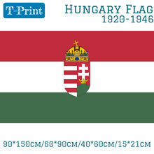 цены Free shipping Hungary 1920-1946 Flag 3ft x 5ft Polyester Banner Flying 150* 90cm Custom flag outdoor