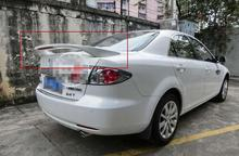 Primer Unpaint Factory Style ABS Spoiler Wing With LED Fit For mazda 6 M6 All Year 2003 2004 2005 2006 2007 2008 Z2AAH002(China)