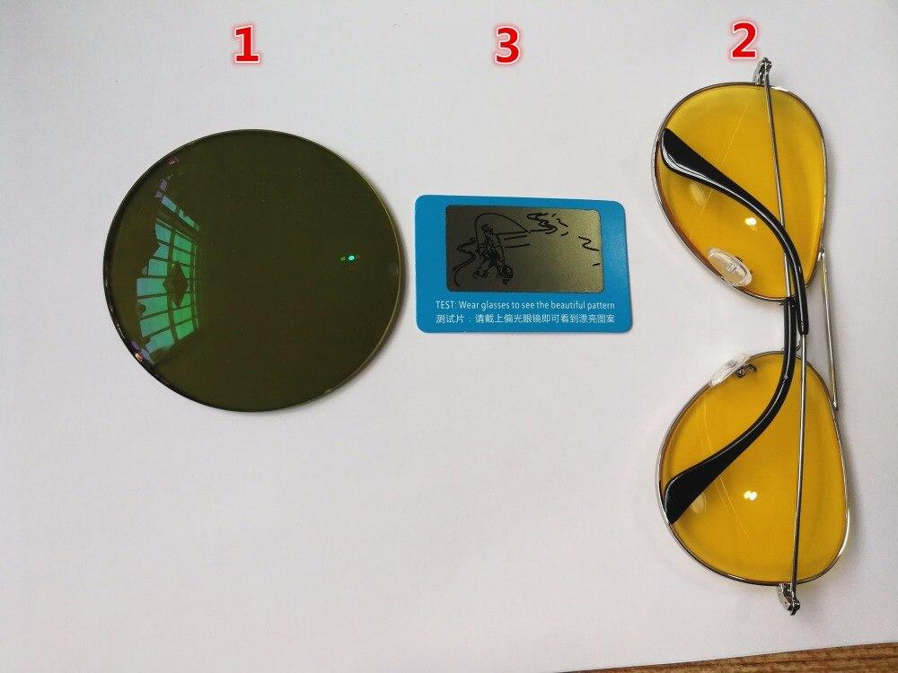 grüne Farbe Nachtsicht Objektiv Kann Tun 1 Professionelle Gelb 49 Brillen Polarisierte UxYw16Sq1