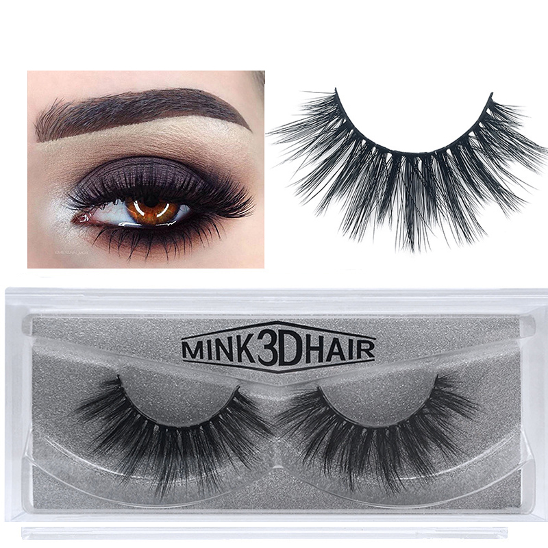 Image 4 - 50 Pairs 3d Mink Lashes Wholesale Handmade natural False Eyelashes 3D Mink Eyelashes Dramatic Lashes 17styles makeup Eye Lashes-in False Eyelashes from Beauty & Health