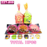 11pcs/lot,ZZTJ010 suit,Slow rebound pendant, ornament, bread squishy set,Special and limited sale,free shipping