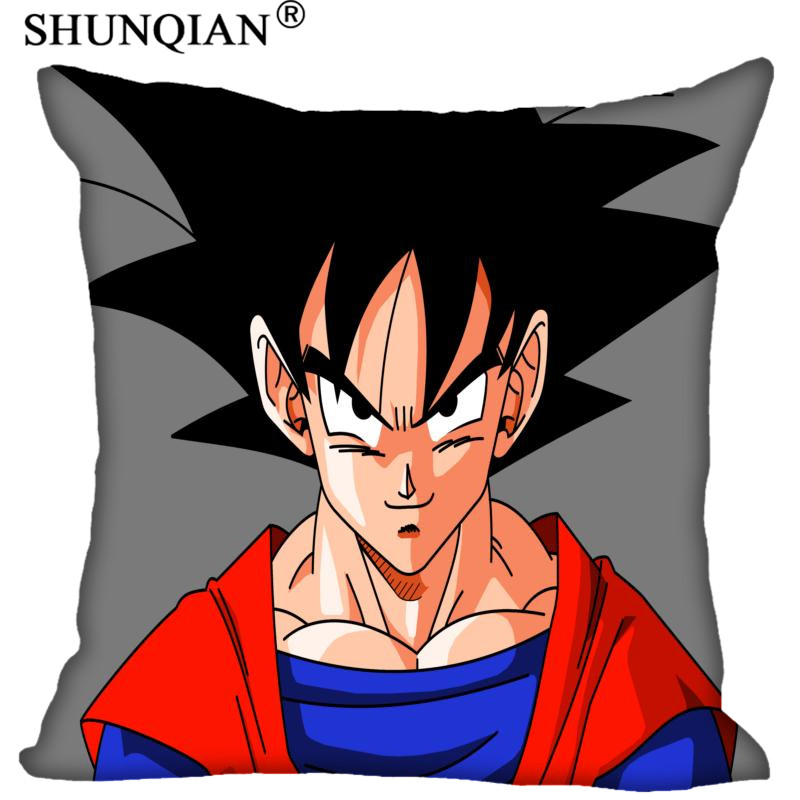 Custom Pillowcase Cover IBK Dragon Ball Z 02 Square Zipper Pillow Cover (Two Sides) Print Your Pictures Cool Pillow Cases Pillow Case     - title=