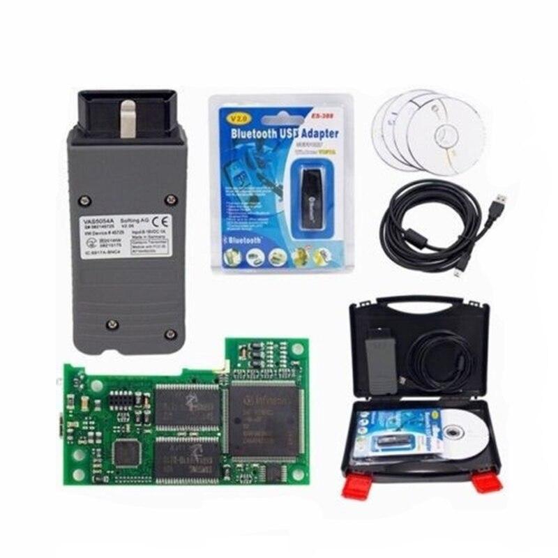 ODIS V4.3.3/V4.4.10/V3.0.3 Bluetooth VAS5054A Car Diagnostic Tool Scanner Support UDS Protocols