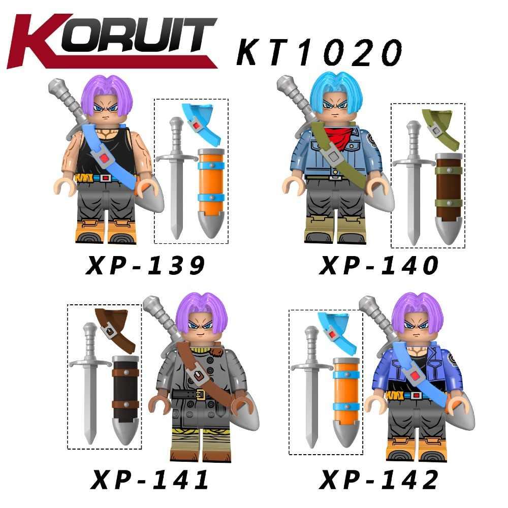 20 комплектов KT1020 Dragon Ball Z Torankusu Vegeta аниме Goku Tien Shinhan строительные блоки кирпичи