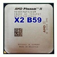 Original AMD Phenom II X2 B59 CPU/6M/3.4G/AM2+/AM3 Desktop processor 95w