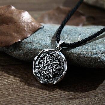 1 pcs pequeno Svarog pingente quadrado. estrela Rus amuleto pingente Antigo talismã eslava pagan men colar de pingente de jóias