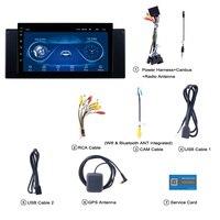 Супер тонкий Сенсорный экран Android 8,1 радио gps навигации для BMW E39 E53 X5 автомобильные аксессуары стереонаушники Мультимедиа Bluetooth