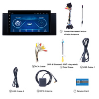 Super Slim Touch Screen Android 8.1 radio GPS Navigation for BMW E39 E53 X5 car accessories headunit Stereo Multimedia Bluetooth