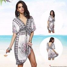ac5dce23fd3 Summer Palace Sexy Women Cover Up Large Plus Size Beach Dress Beachwear  Swimwear Bikini Cover Up