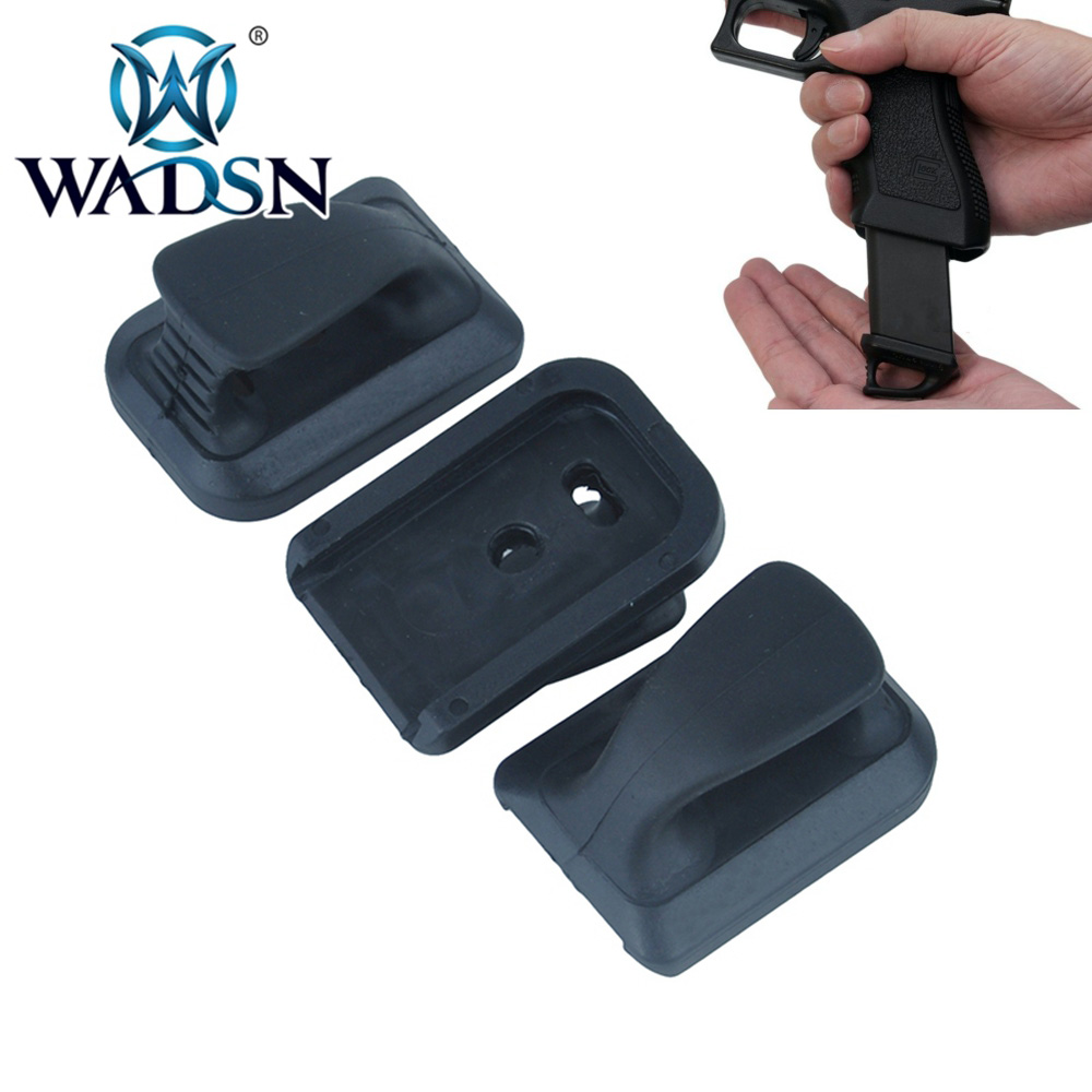 WADSN Tactical SPEED PLATE FOR TM G17 3pcs/pack NO LOGO Hunting Pistol Acessorios Airsoft Fit g17 Glock 17 WPA0208 marui glock