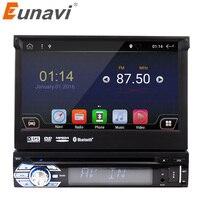 Eunavi Universal 1 Din Android 6 0 Quad Core Car DVD Player GPS Wifi BT Radio