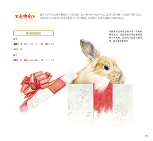 Image 4 - Chinese Color Pencil Drawing Meng cute pet Healing Journey Succulents Art Painting Book