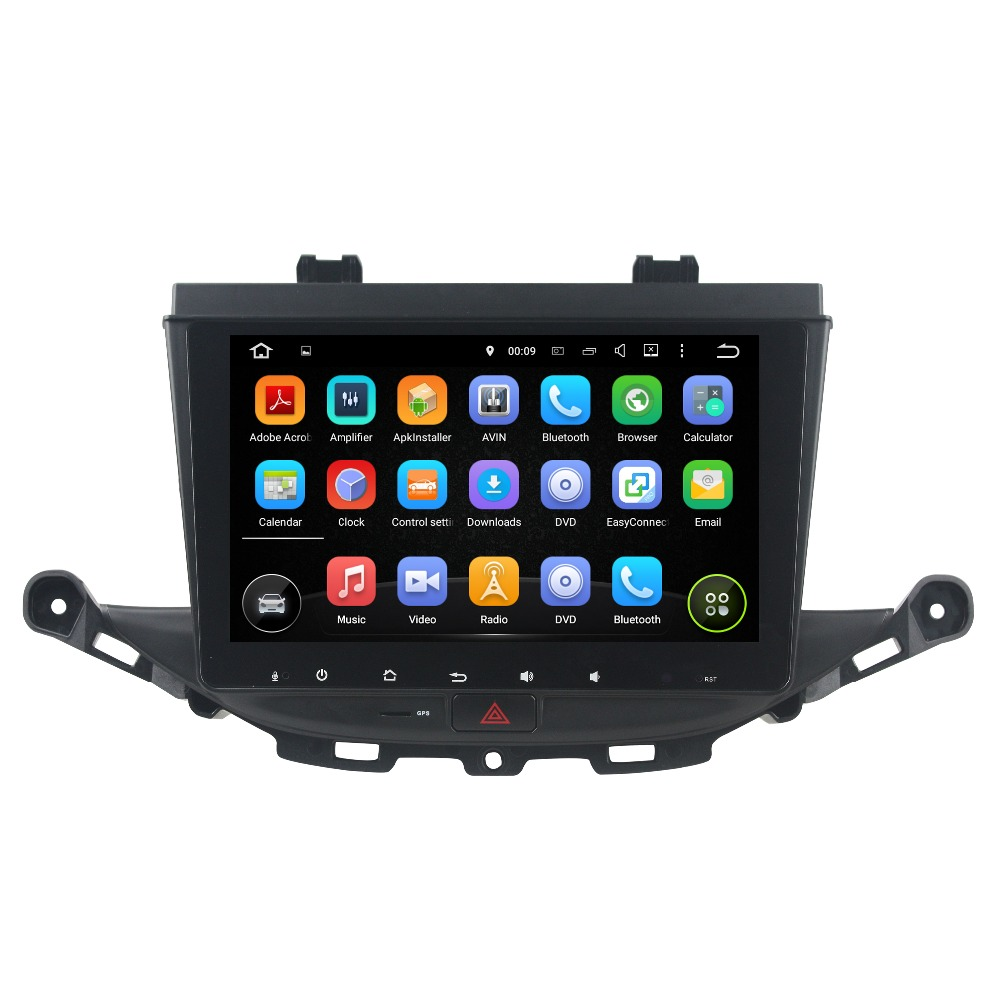 Hd 1024*600 car dvd player for opel vauxhall astra j buick verano.