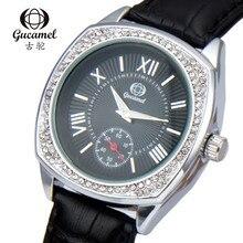 Famosa Marca de Relojes de Las Mujeres 2016 de La Moda negro Delgado Femenino Reloj de Cuarzo Elegante Reloj de Vestir Relogio Feminino Reloj Montre Femme